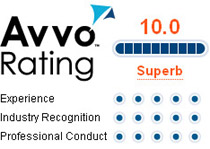 AVVO rated Superb Attorney Keith Belzer